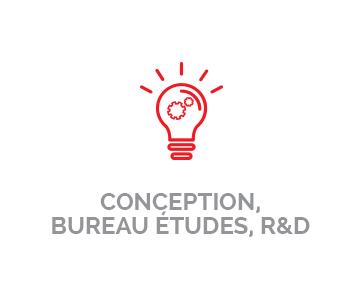 Conception, Bureau études, R&D