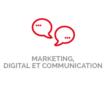 Marketing, digital & Communication