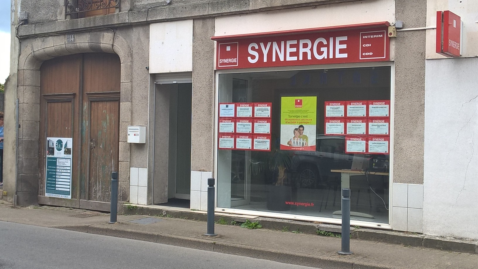 Agence interim Synergie Vannes