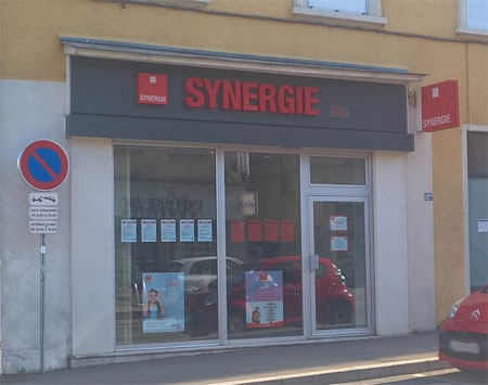 Agence interim Synergie Oullins
