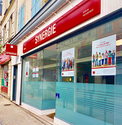 Agence interim Synergie Chateau Thierry