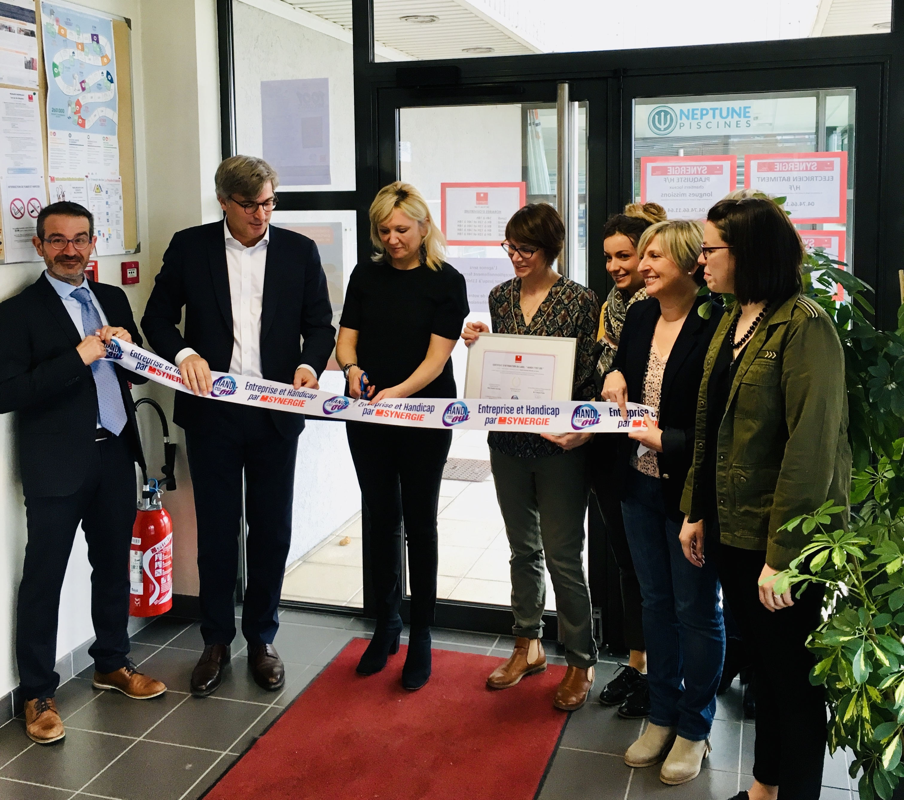 Labellisation agence Synergie