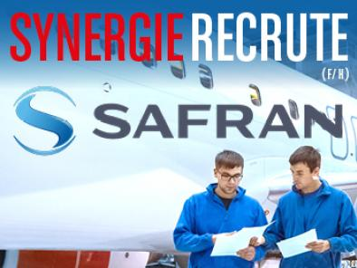 Synergie recrute pour Safran